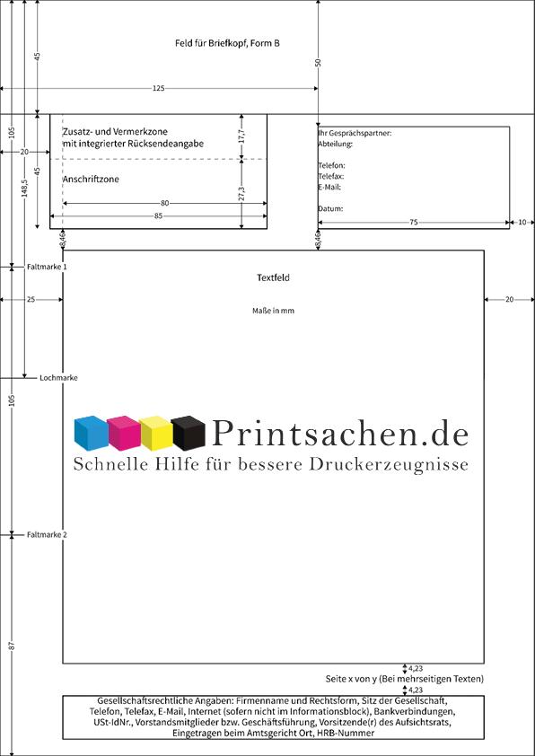 Briefpapier DIN 5008