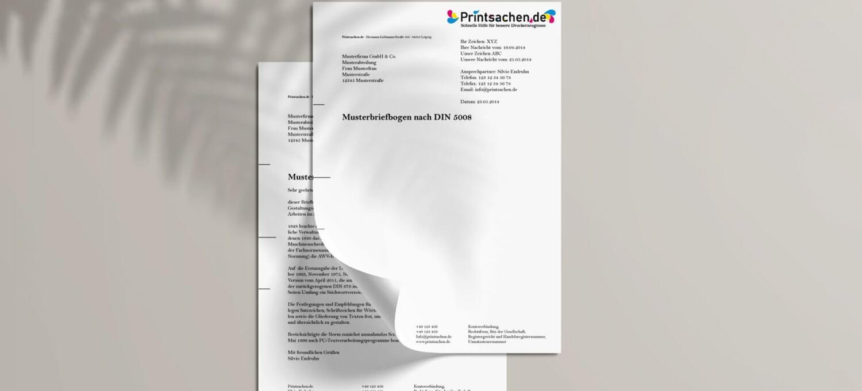 Briefpapier nach DIN 5008