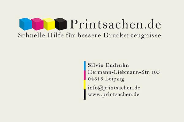 Visitenkarte Printsachen