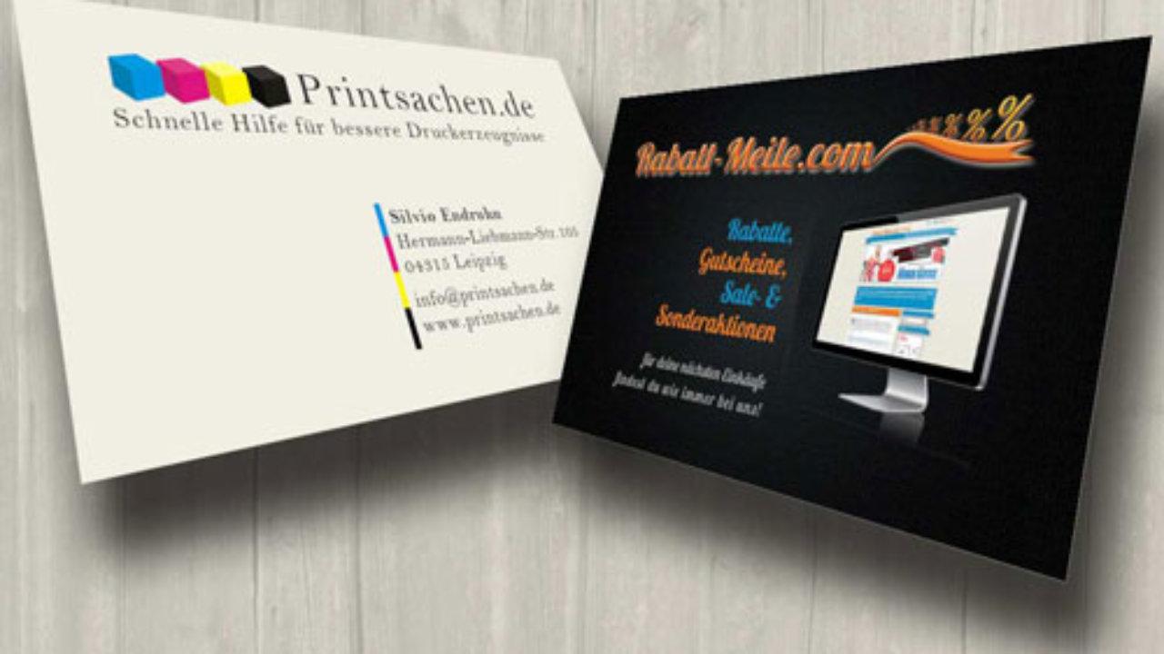 Visitenkarten Erstellen Perfekte Druckergebnisse Bekommen