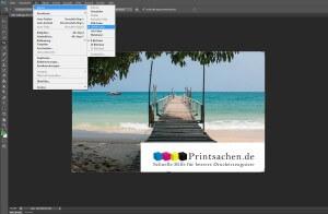 CMYK Farben in Photoshop Farbraum CMYK