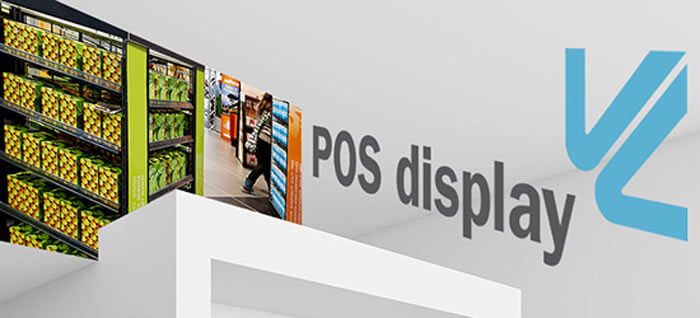 pos display auf der Viscom