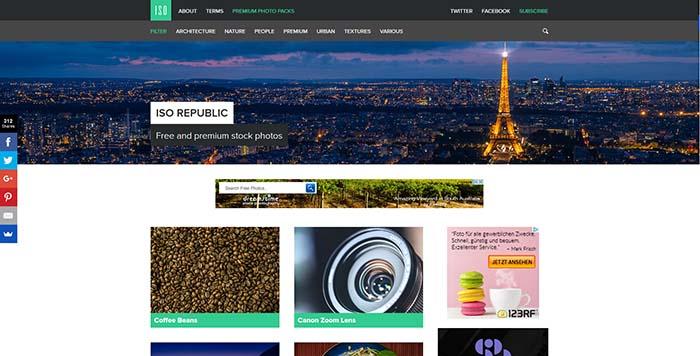 Lizenzfreie Bilder mit CC0 bei ISO REPUBLIC