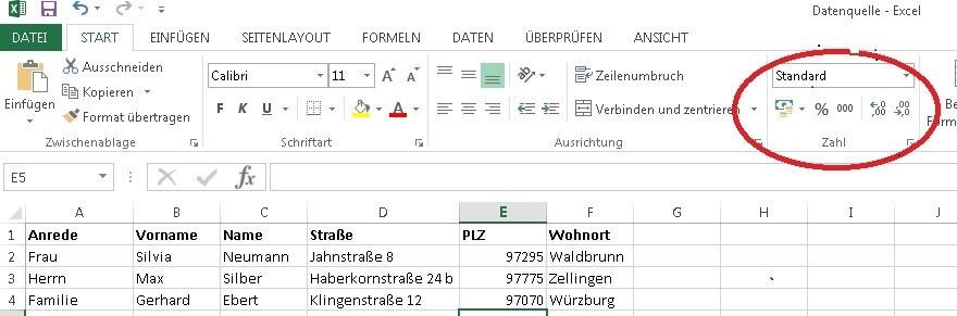 Etiketten in Word erstellen | Seriendruckfunktion Datenquelle anlegen