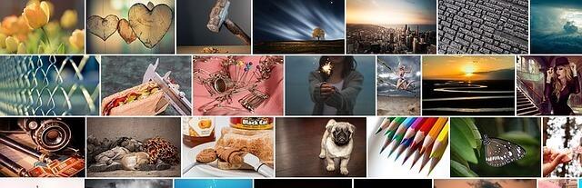Pixabay Bildergalerie Widget