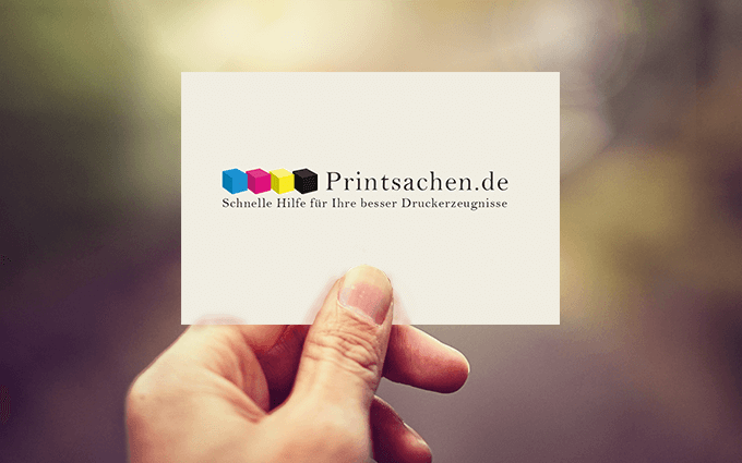 Die Visitenkarte Als Moderner Händedruck Printsachen De