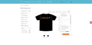 shirtfabrik24 T-Shirt Druck Rückseite gestalten