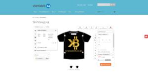 shirtfabrik24 T-Shirt Druck Vorderseite gestalten Logo ausrichten