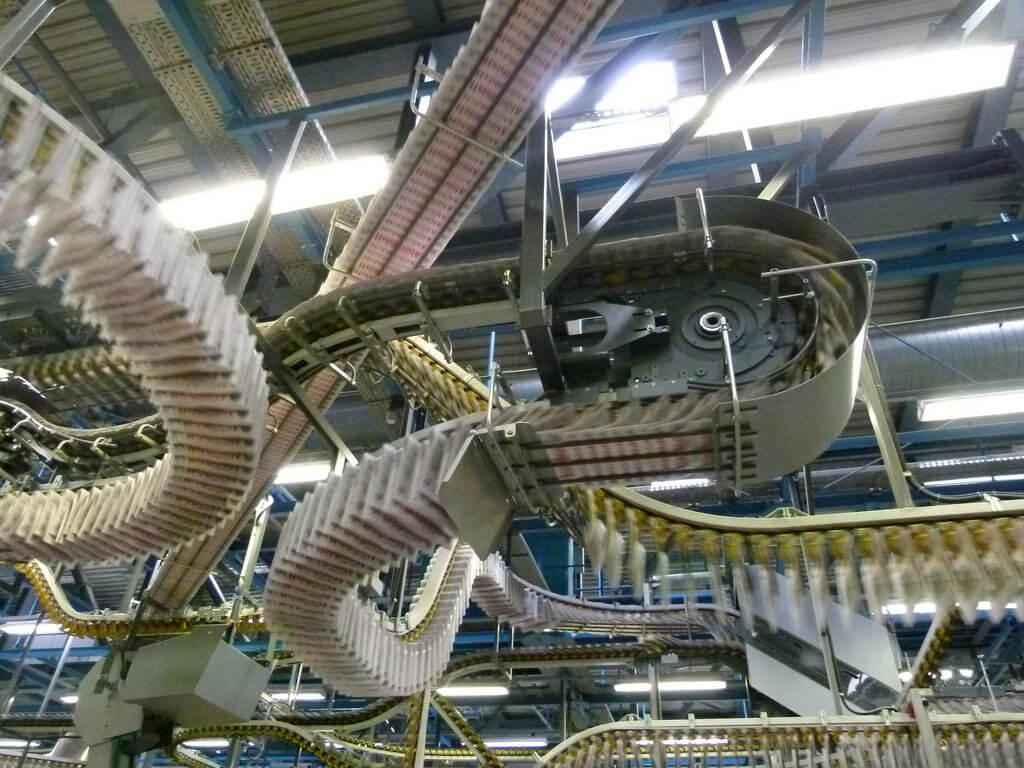 Rotationsdruckmaschine für Tageszeitungen