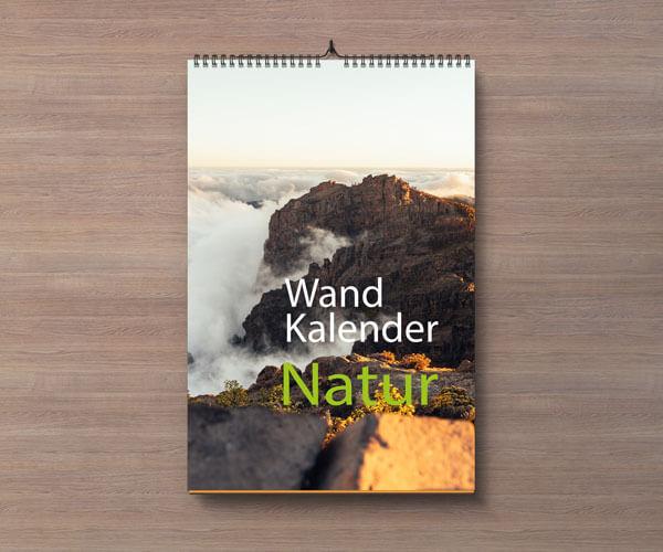 Kalendar Portrait Natur