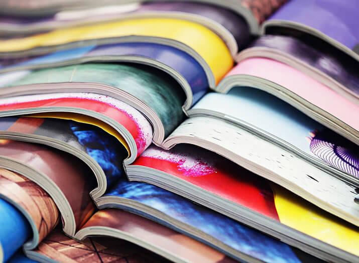 Broschüren online drucken lassen