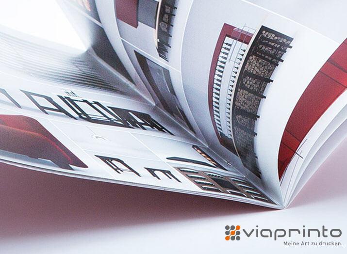 Broschüren mit Klammerheftung online drucken lassen