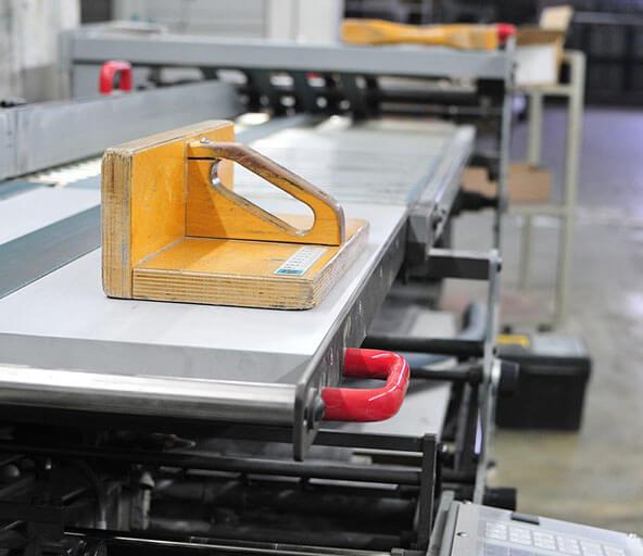 Veredelung und Weiterverarbeitung von Druckstücken