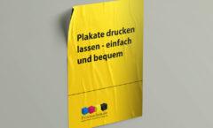 Plakate drucken lassen
